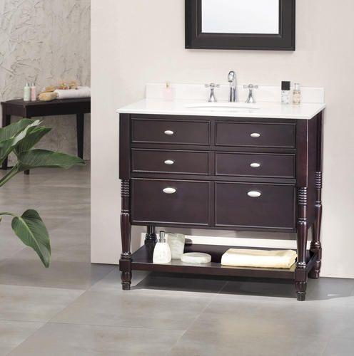 849 36 X 21 Elizabeth Vanity With Top Single Bathroom Vanity