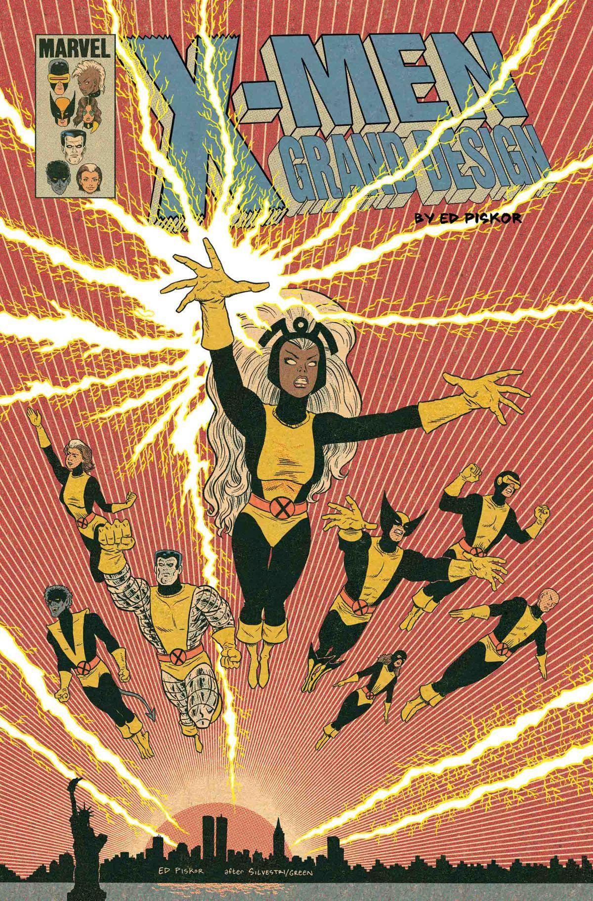 X Men Grand Design Second Genesis 2 Of 2 Variant Marvel Comics Vintage Marvel X Men