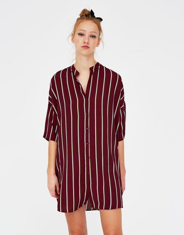 Camisa vestido mujer