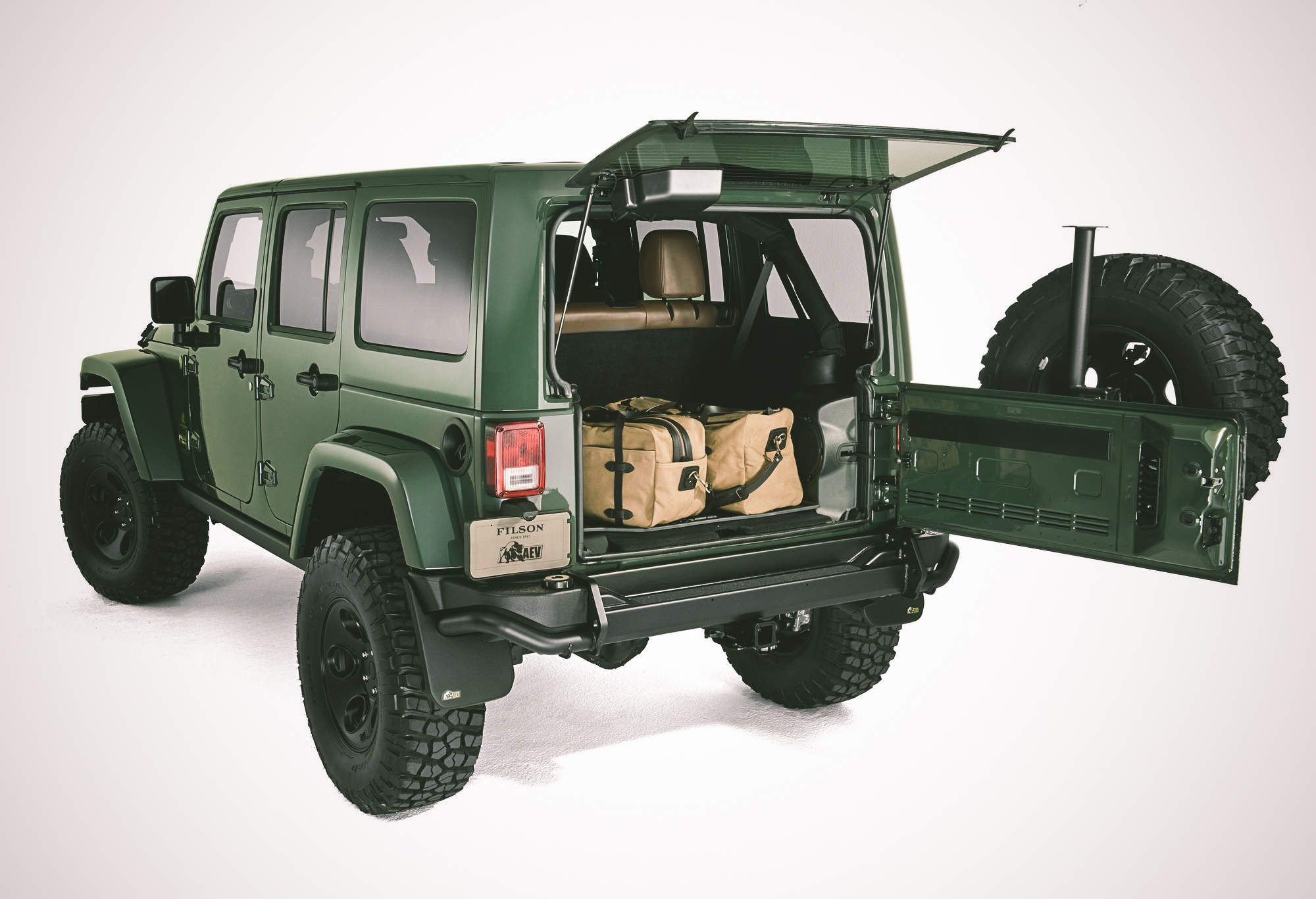 Filson S Limited Edition Jeep Is One Handsome Beast Jeep