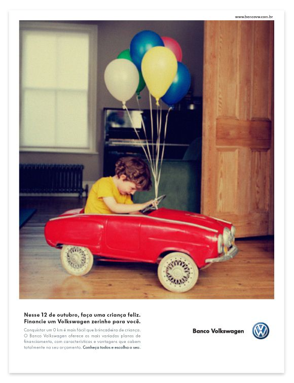 Banco Volkswagen Advertising by Marcelo Magalhães    beautiful saturated colors