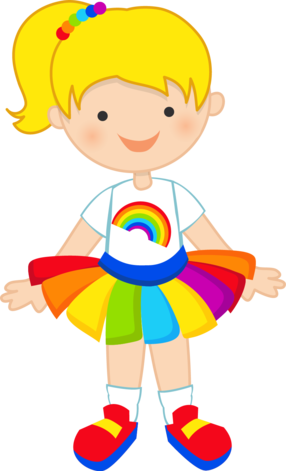 rainbow pretty minus ros pinterest rainbows clip art and girls rh pinterest com pretty clip art free pretty clip art designs