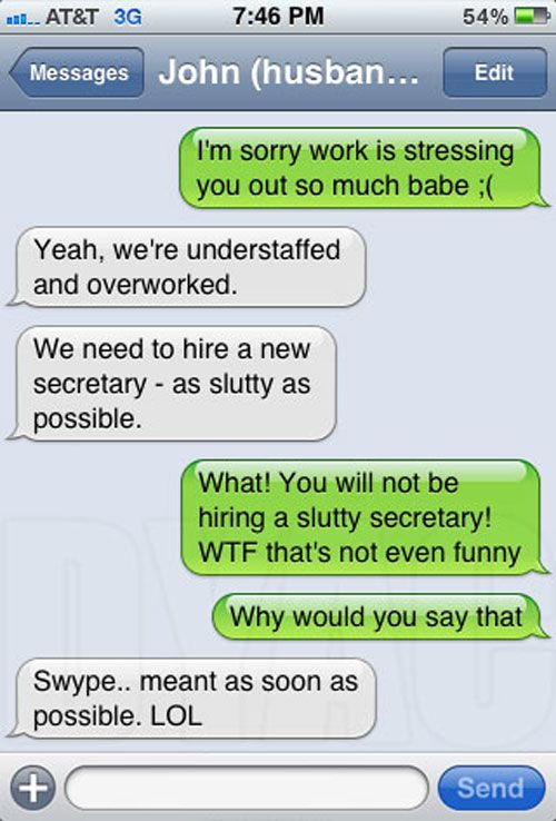 Insanely Funny IPhone Auto Correct FailsLOL Auto Correct - The 25 funniest text autocorrects you will see today