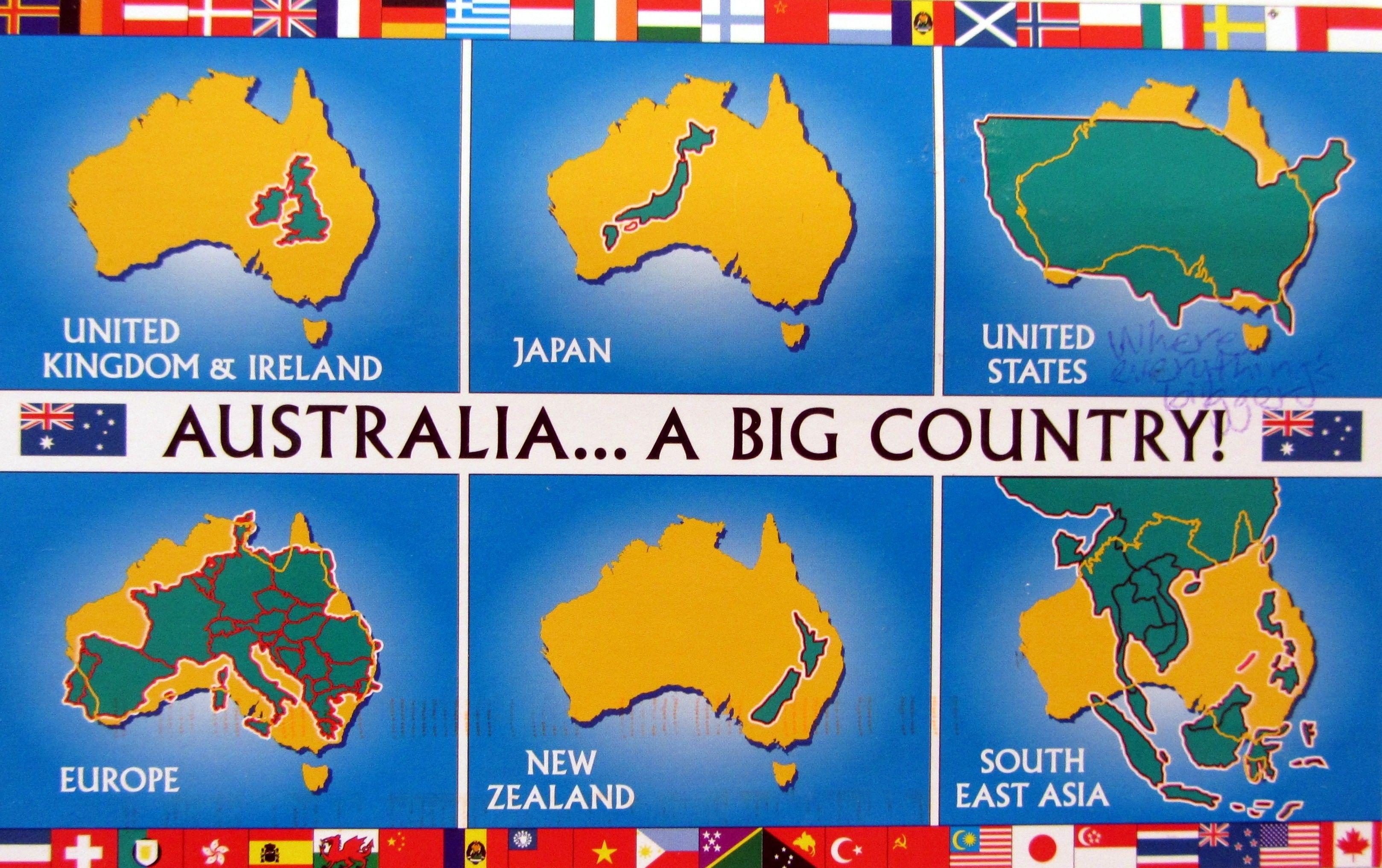 Sendoutcards Retail Presentation Australia Facts About Australia Australian Maps