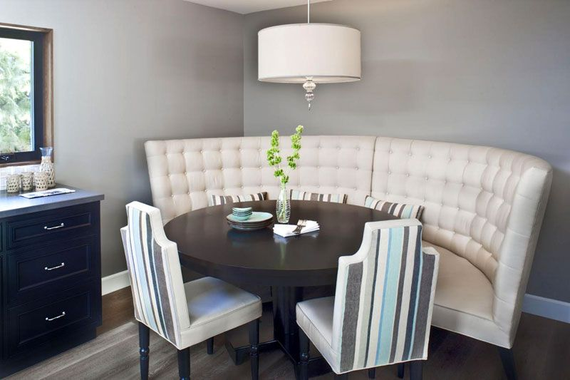 27++ Dining table with wrap around bench Ideas