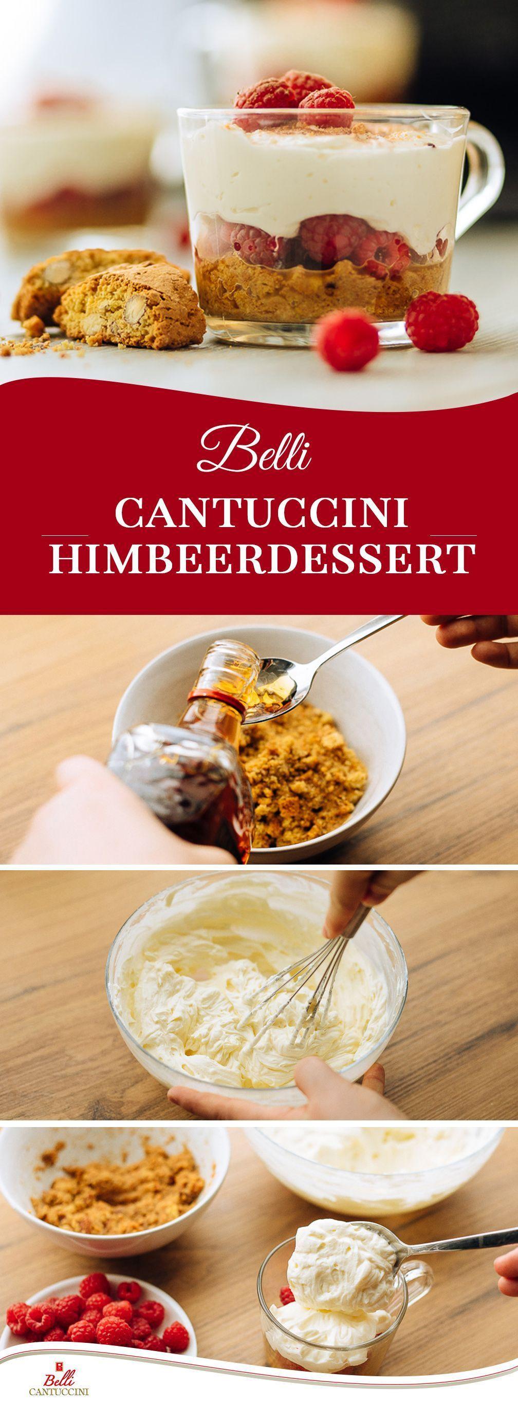 Dessert aux framboises Belli Cantuccini – Carol&RecettesChocolat