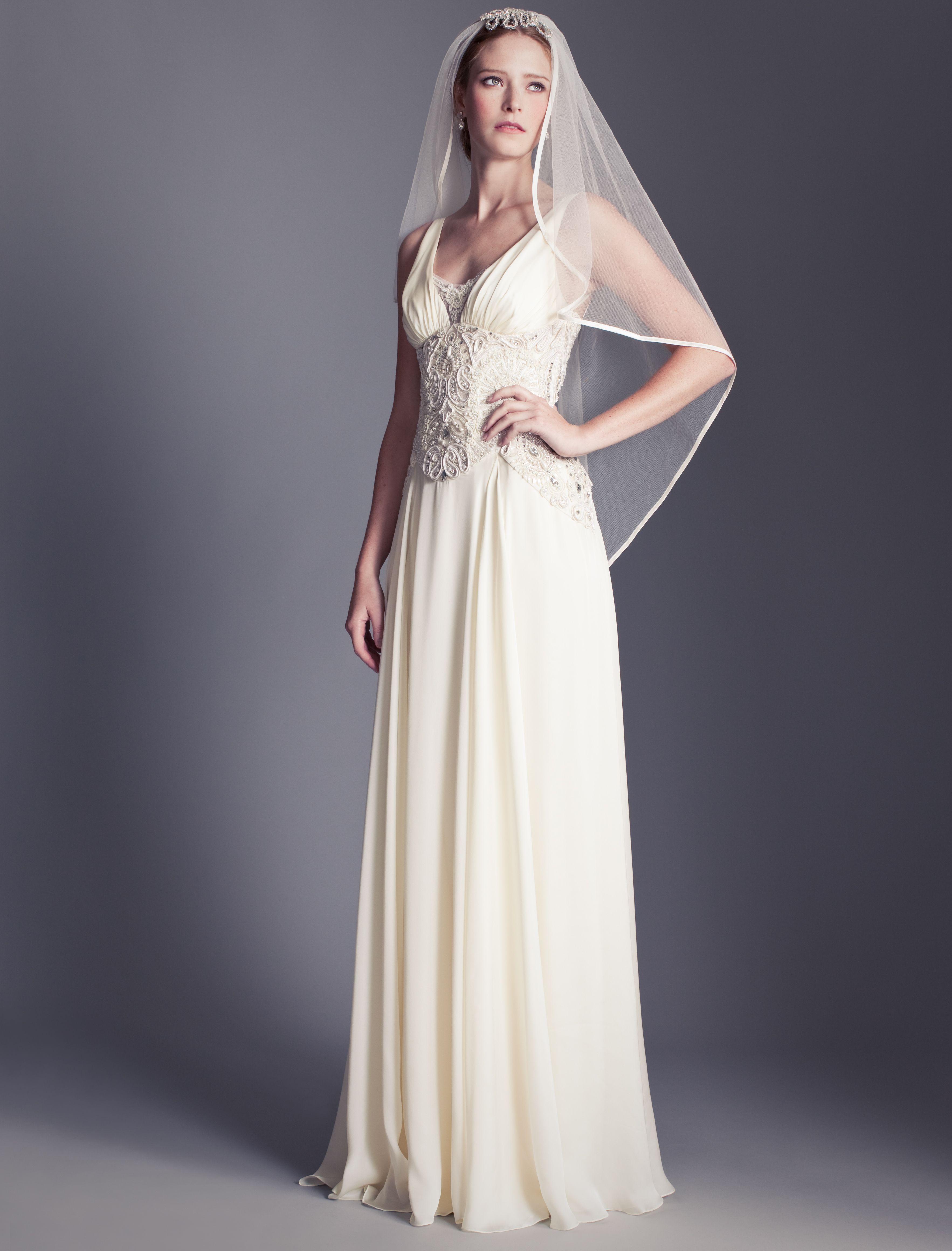 Beatrice Hair Comb Wedding gown gallery, Designer