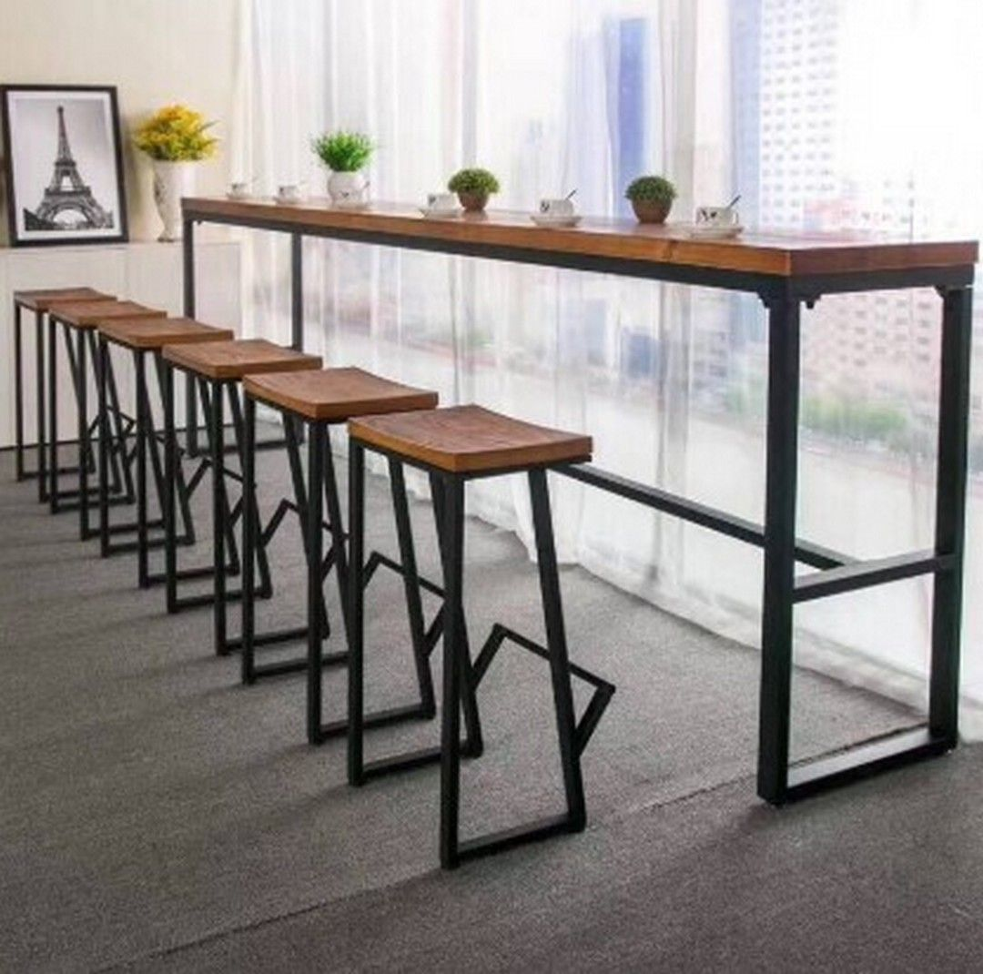 6 Design Tables And Chairs In A Minimalist Cafe Restaurant Tables And Chairs Restaurant Table Design Cafe Chairs And Tables