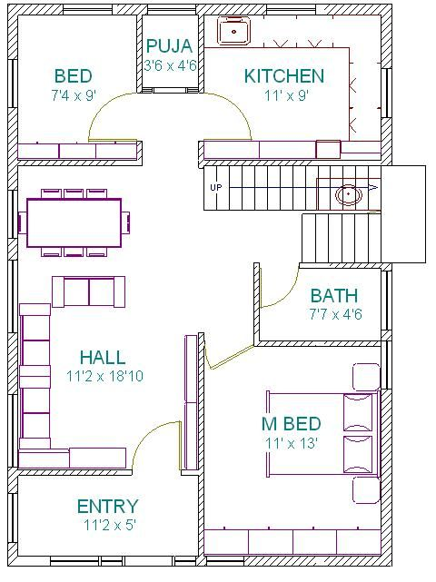 1 Vastu Plan Gf Jpg 480 641 West Facing House Indian House Plans Free House Plans