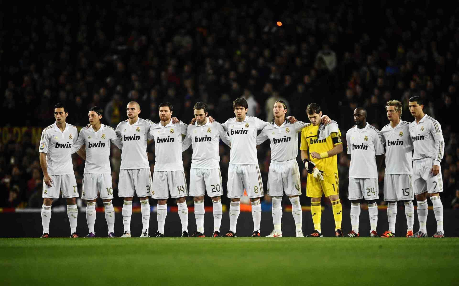 Real Madrid Team Best Wallpaper Hd Real Madrid Team Real Madrid Real Madrid Logo