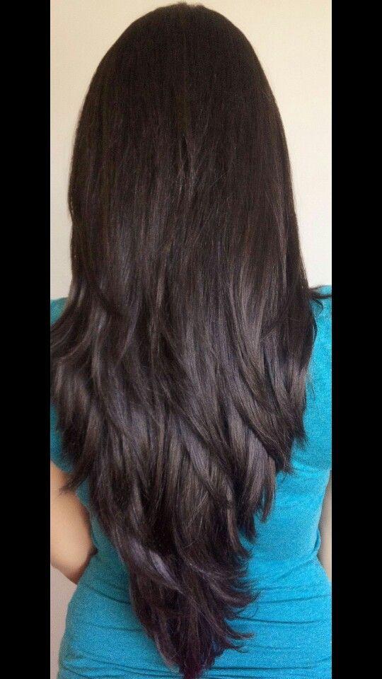 Long Hair Layer Idee Per Capelli Capelli Modelli Di Capelli
