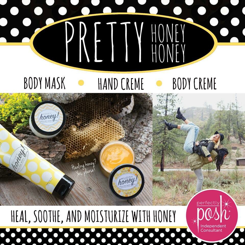 Honey! Honey! Love Honey? This is for you! #honeyhoney #perfectlyposh www.perfectlyposh/Carrielovett/251215