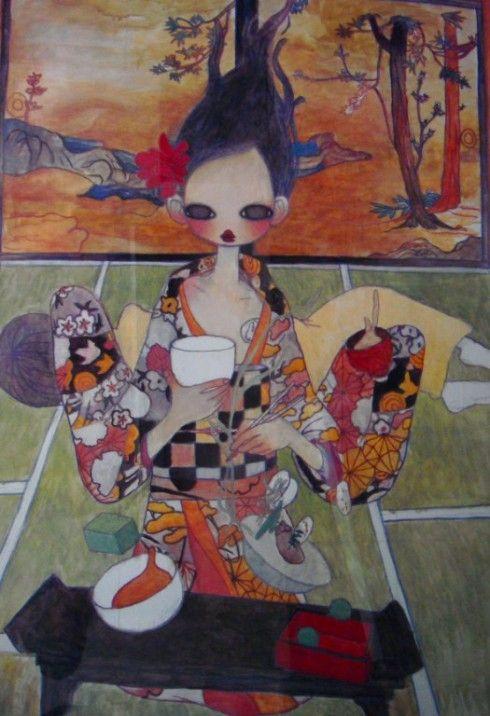 Fabrik Contemporary Art Made In Japan Exhibition Sketchbook