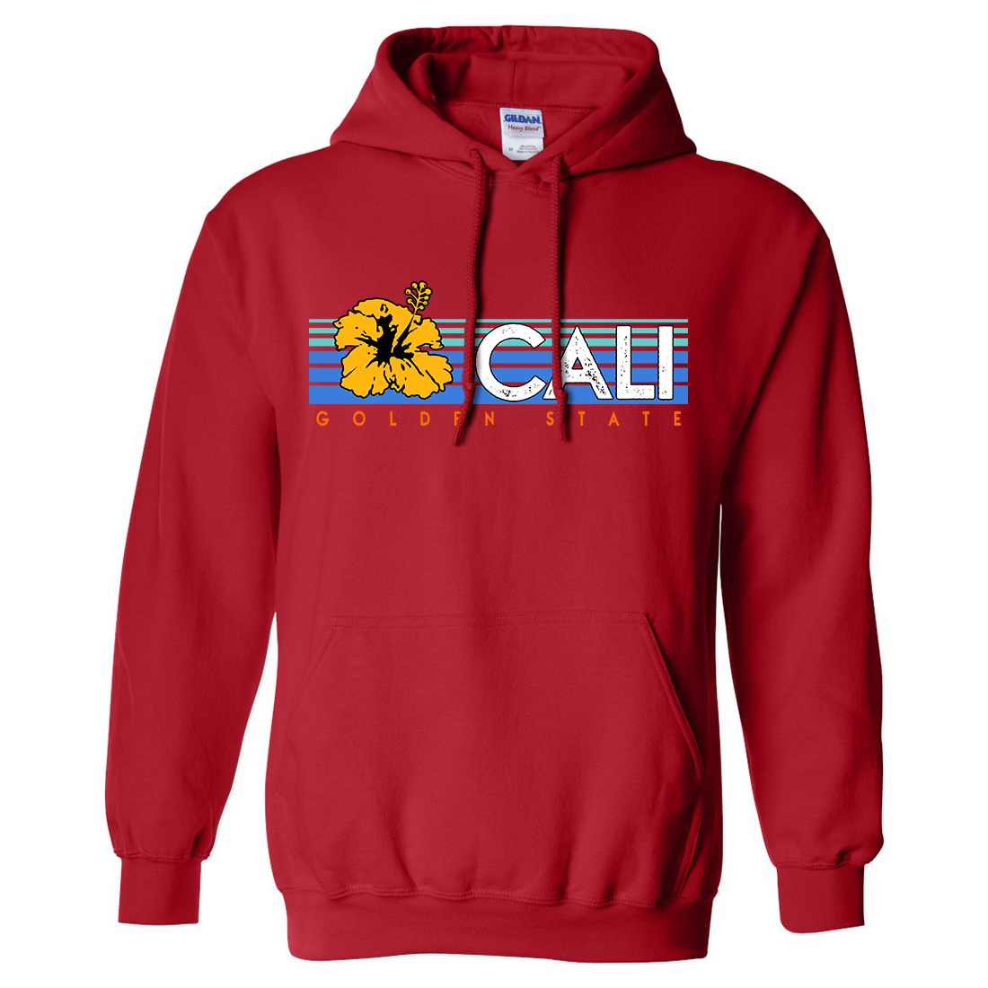 Be seen in one of the highest-quality classic fit pullover hoodies around. For over 30 years, California Republic Clothes products have been printed in beautiful San Luis Obispo, California, and we use only the finest garments. Our hooded sweatshirts are ultra comfy, and use air jet yarn, which results in a softer feel and reduced pilling. Whether you're rocking the California Republic Bear Flag or one of our popular sea life designs, this hoodie won't let you down. Don't settle for anything less than the original - California Republic Clothes. Product Care: Our hoodies are machine washable and dryer friendly. As a side effect of the screen-printing process you may see a small faint box on your shirt/sweatshirt. This will go away after a wash or two. All our products are backed by our top-notch customer service.