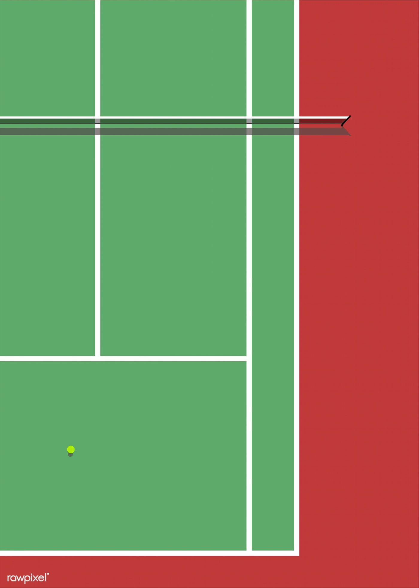 Aerial View Of A Tennis Court Free Image By Rawpixel Com Aew In 2020 Tennis Court Tennis Aerial View