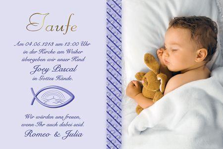 Einladung Zur Taufe Die Fotokarten Werden Von Uns Mit