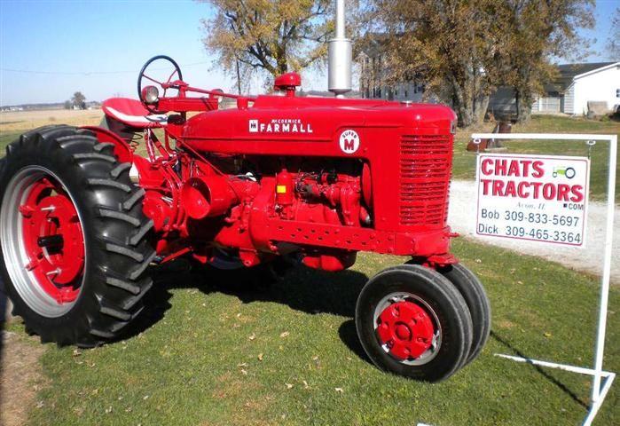 1952 Farmall Super M Tractor | International-Farmall