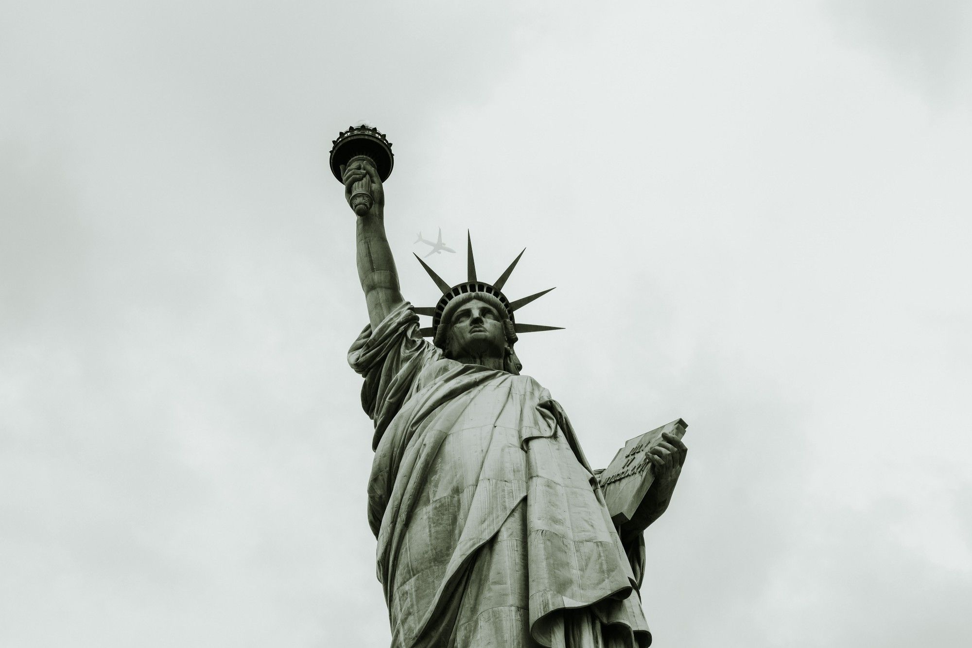 The Beginning Or The End Of America Background Statue Of Liberty Blog Photo