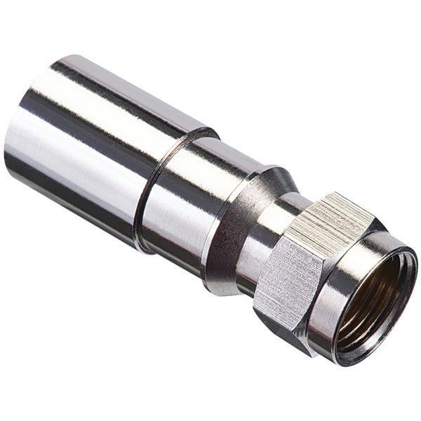 IDEAL 92-650 RG6 F-Compression Connectors, 50 pk