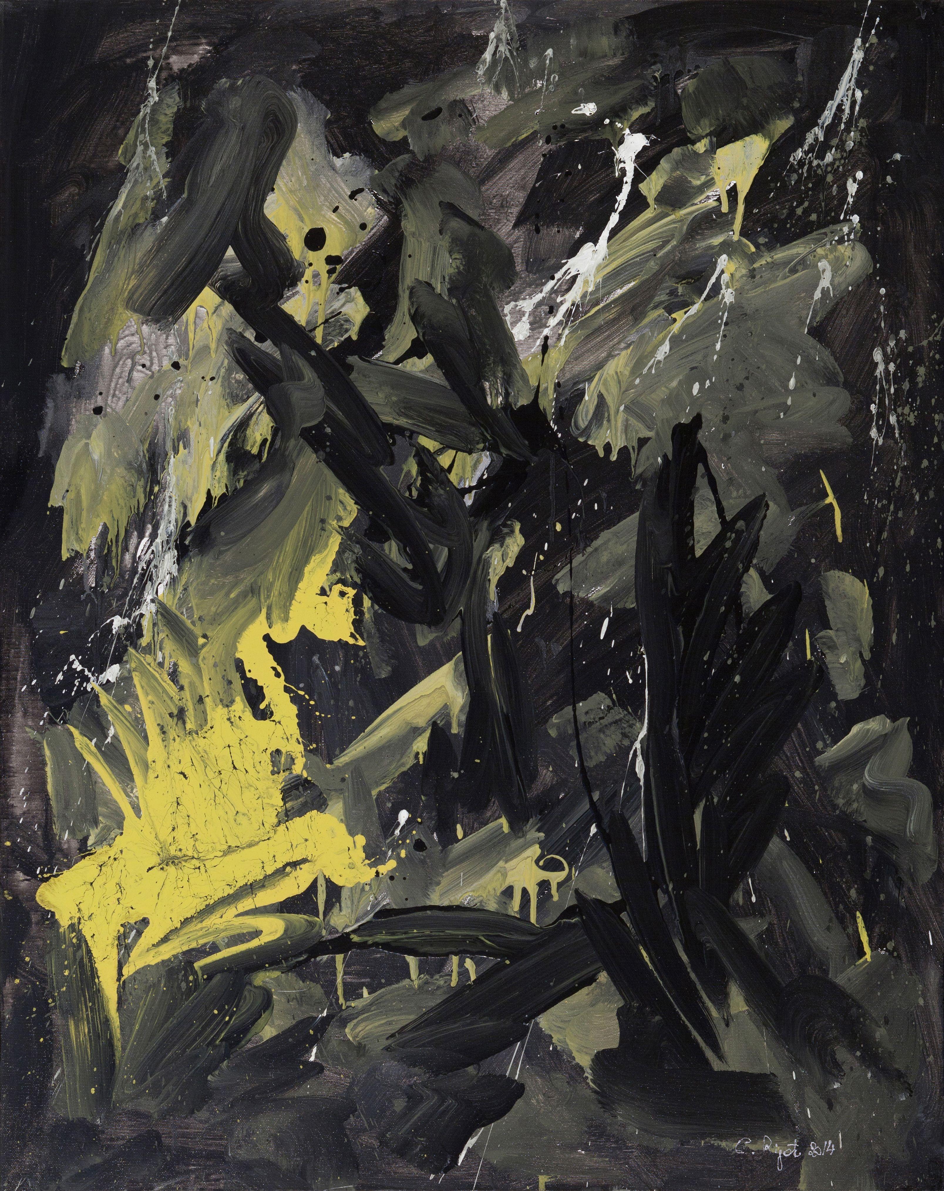 """Carla Rigato, """"Incontro alla notte"""", 2014, acrilico su tela, 100x80.  #arte #art #energiapura #color #contemporaryart #painting www.carlarigato.it"""