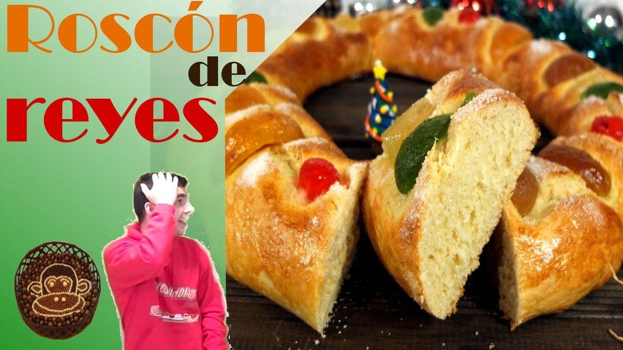 Roscon De Reyes Facil La Receta Mas Sencilla Recetas De Comida Roscon De Reyes Comida
