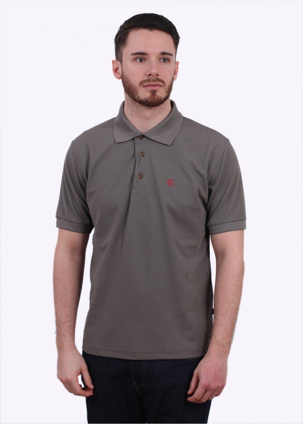 Fjällräven shirt Crowley Pique Polo S Fog i1Rwg1m