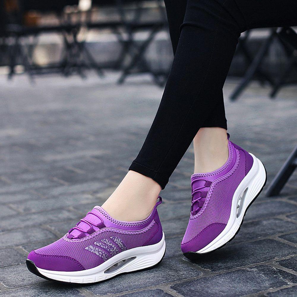 Women Outdoor Sports Running Mesh Slip