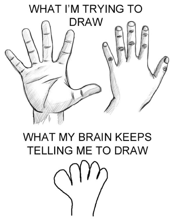 Princeton Online How To Draw Hands Humor The Meta Picture