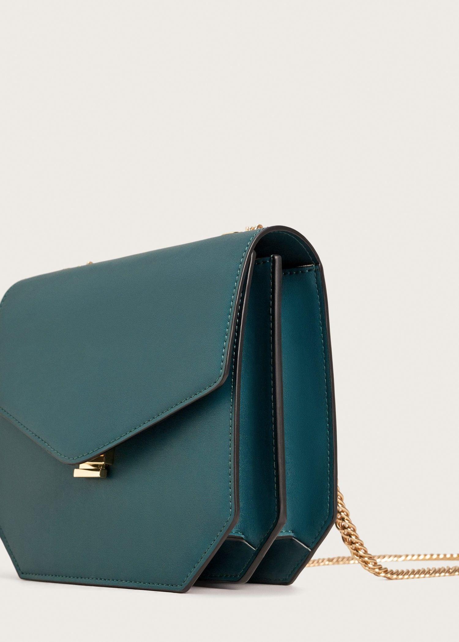 dcd367886fa9 Mango Chain Cross Body Bag - Green One Size