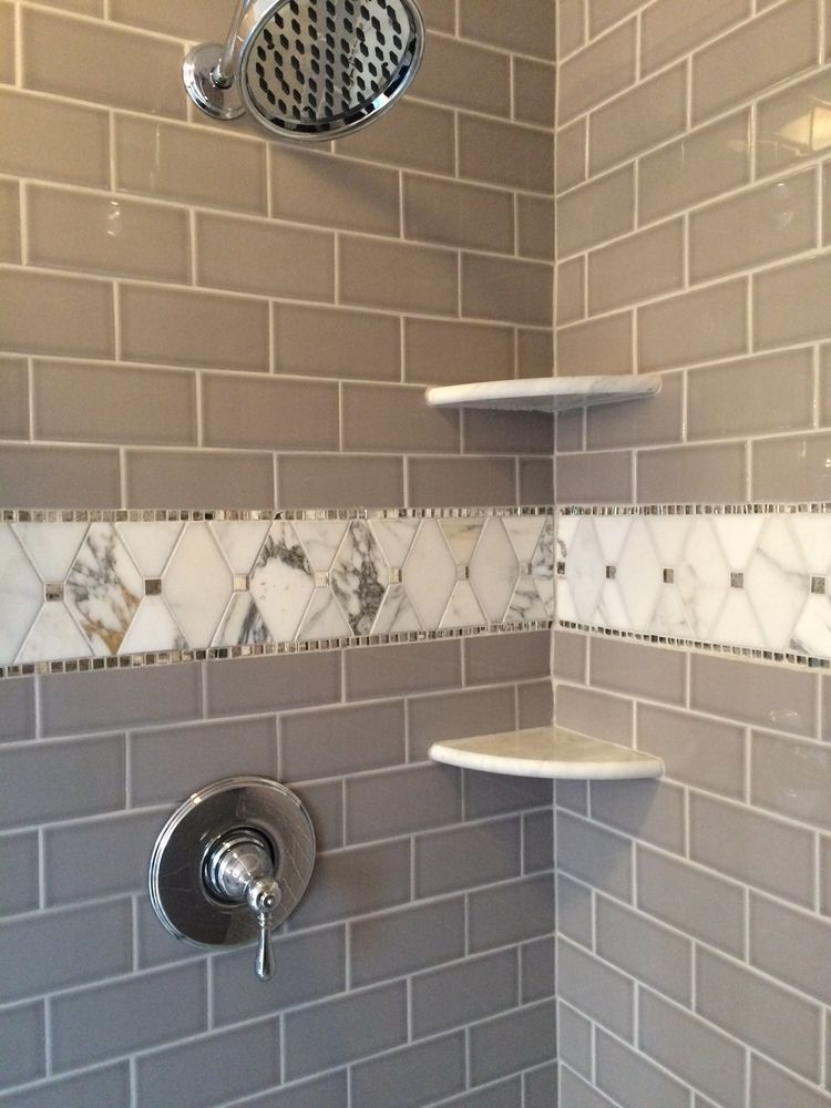 Master Bath Remodel By BlankSpace LLC Pittsburgh PA Custom Shower Surround With Dove Gray