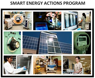Earth Matters: Sunnybrook launches Smart Energy Actions Program. This program allows us to monitor our energy use and make sure we're using it as effectively & economically as possible.