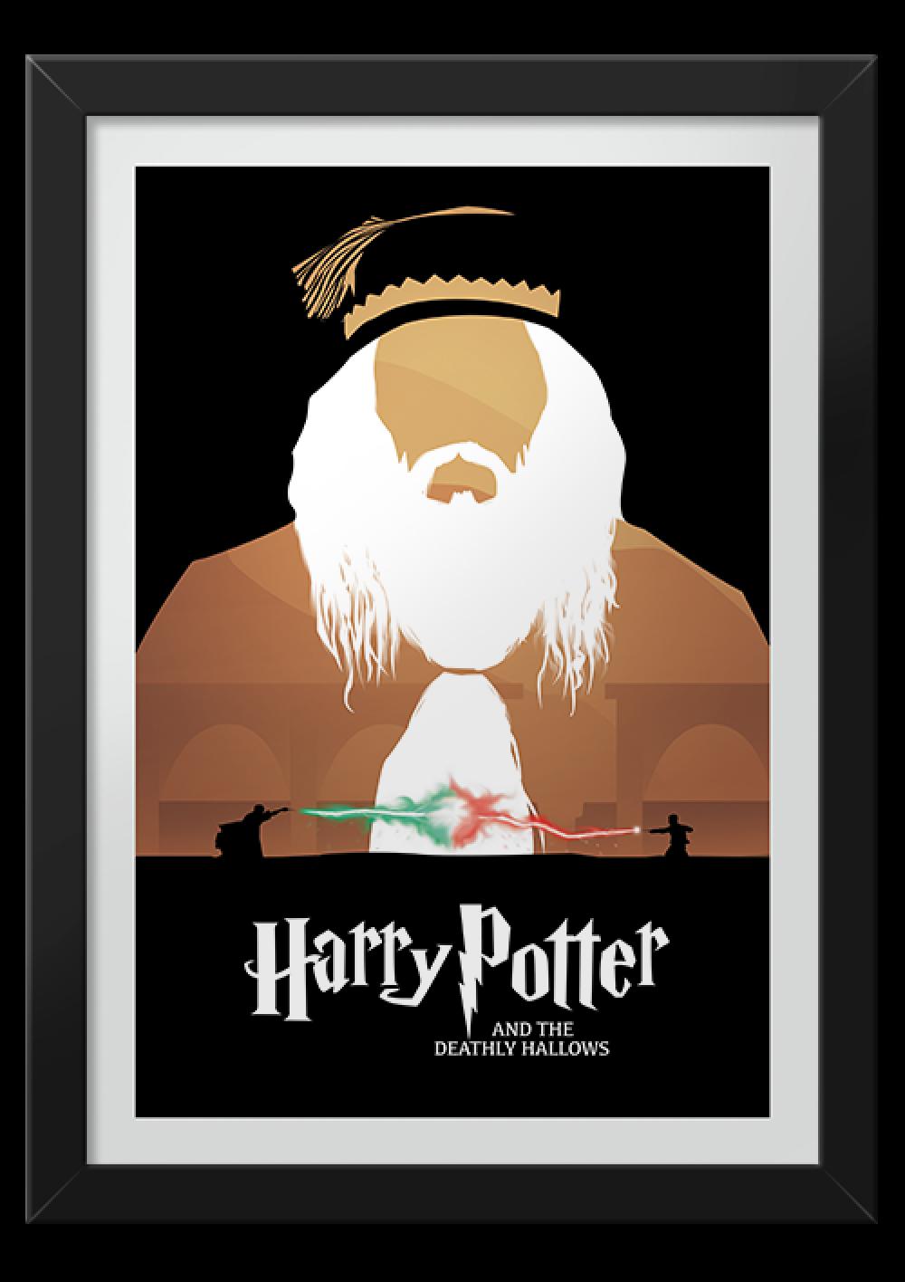 Reliquias da Morte - Harry Potter - Livros | Posters Minimalistas ...