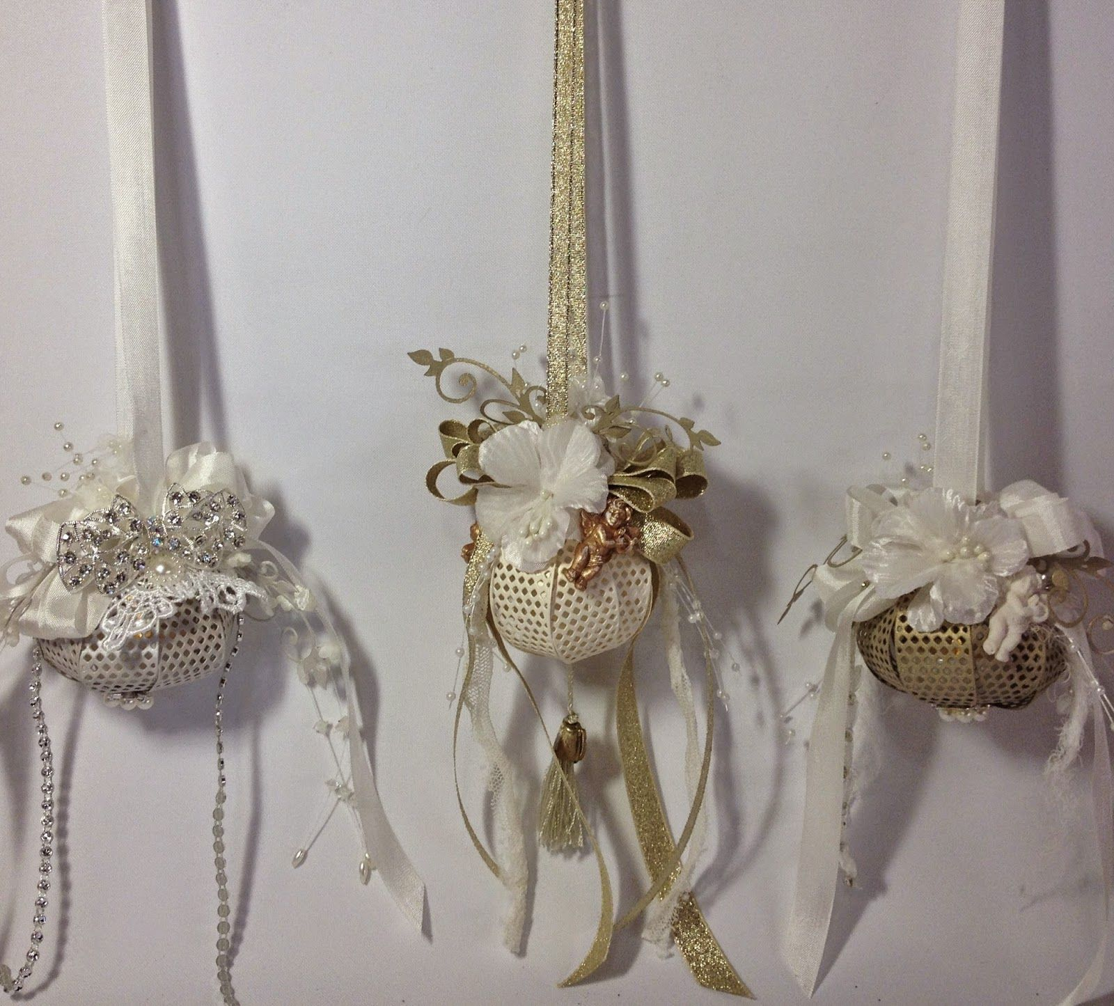 Annes Papercreations How To Make A Christmas Lightning Ornament With Bow Video