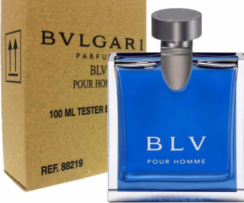 1541c8546f0 Bvlgari Blv (Bulgari Blue) Perfume for Men Eau De Toilette 100ml Dubai  Tester Original