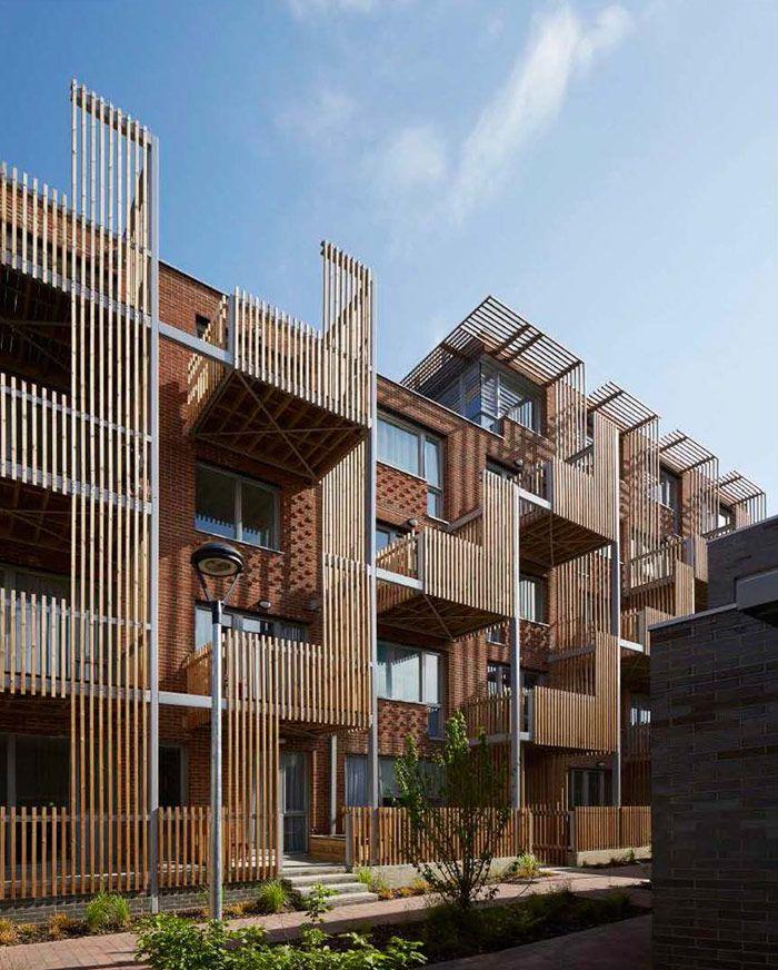 England Apartments: Brady Mallalieu Architects, London, UK, 22-28 Underwood