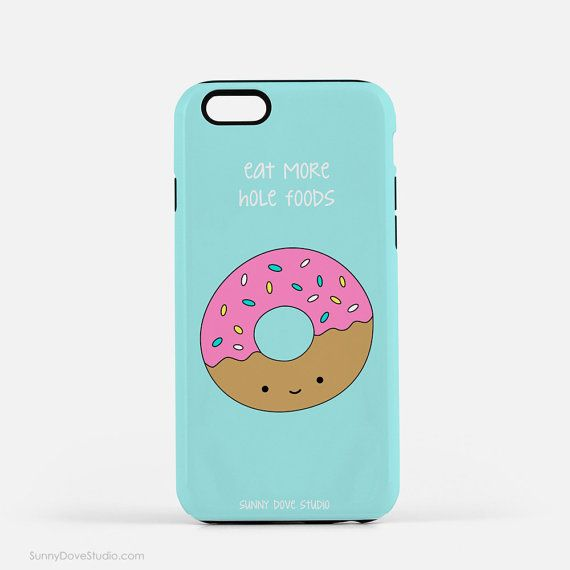 IPhone Case Cute Phone Cases Funny Donut Pun Fun Gift For