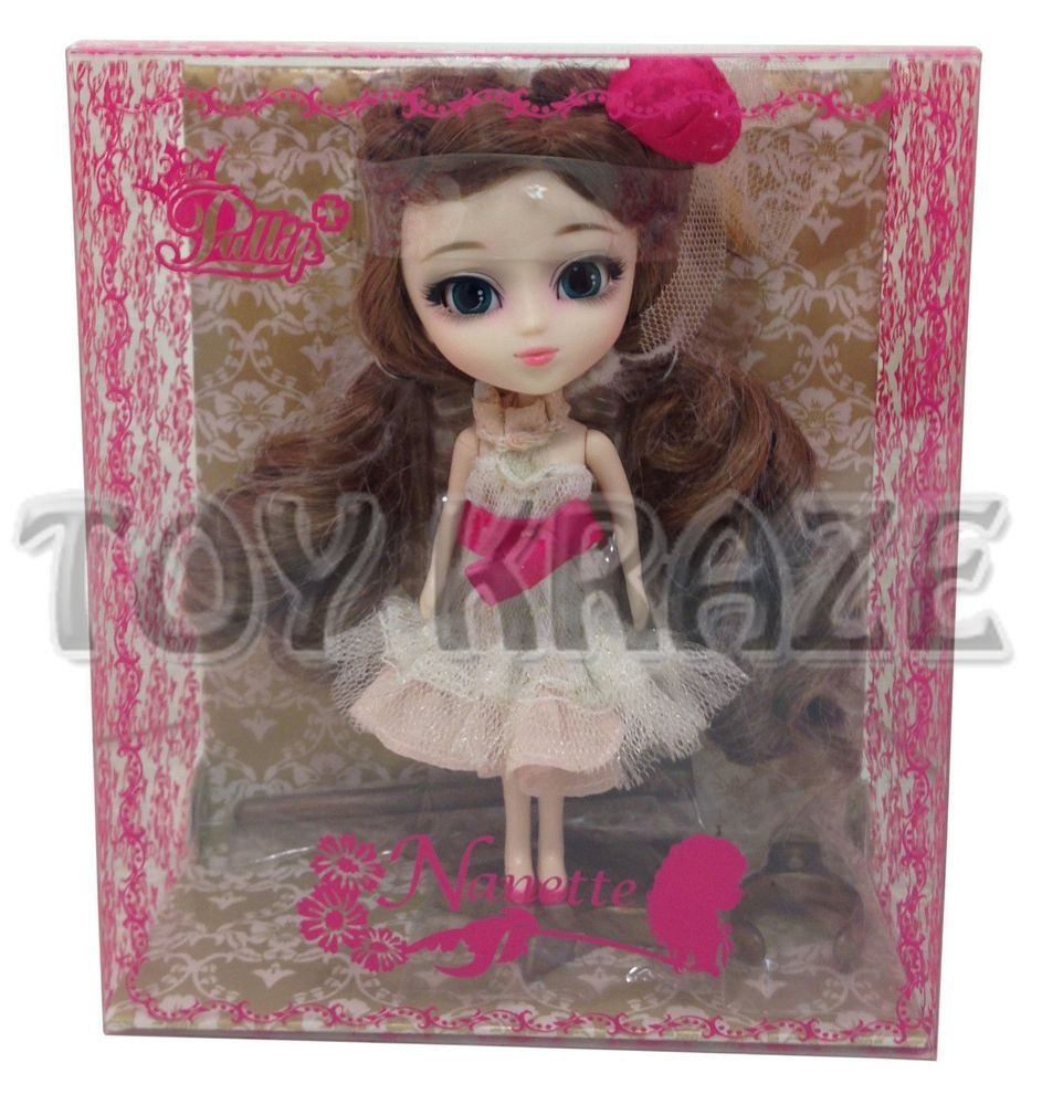 NANETTE LP-435 LITTLE PULLIP JUN PLANNING MINI DOLL GROOVE INC NEW