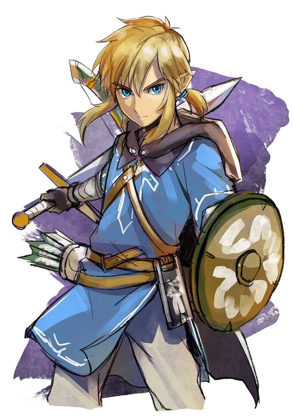 Link (the Legend Of Zelda) : legend, zelda), Legend, Zelda