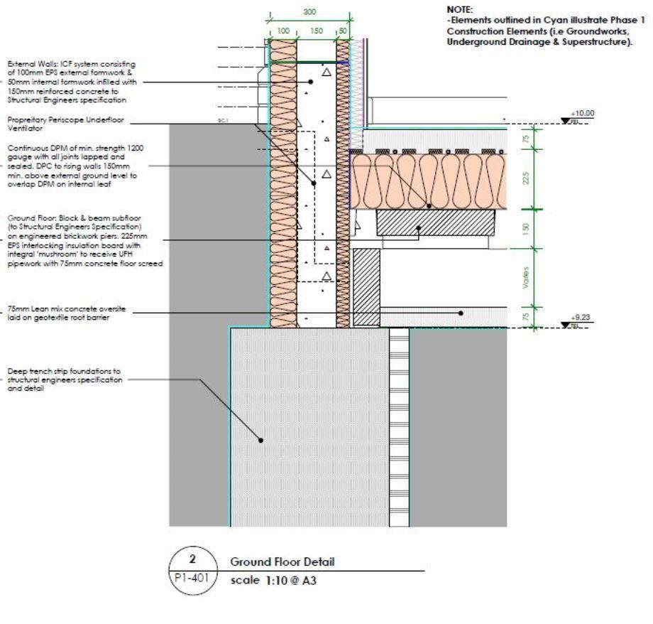 Suspended Concrete Floors In 2020 Concrete Floors Sleeper Wall Beams
