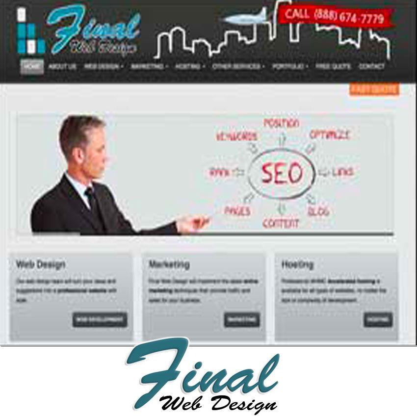 Original Final Web Design Web Design Miami Design Professional Web Design