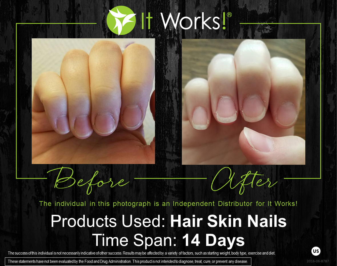 Pin by Samantha Townshend on ItWorks | Pinterest | Stronger nails ...