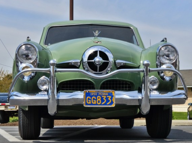 "1950 Studebaker ""bullet"" nose….Re- pin brought to you by #LowcostcarInsurance …"