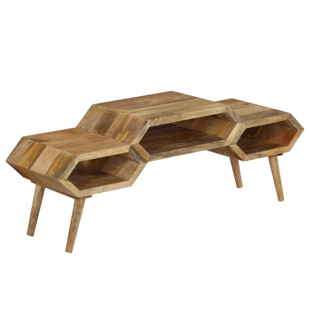 vidaXL TV Stand Solid Mango Wood 119x35x45 cm