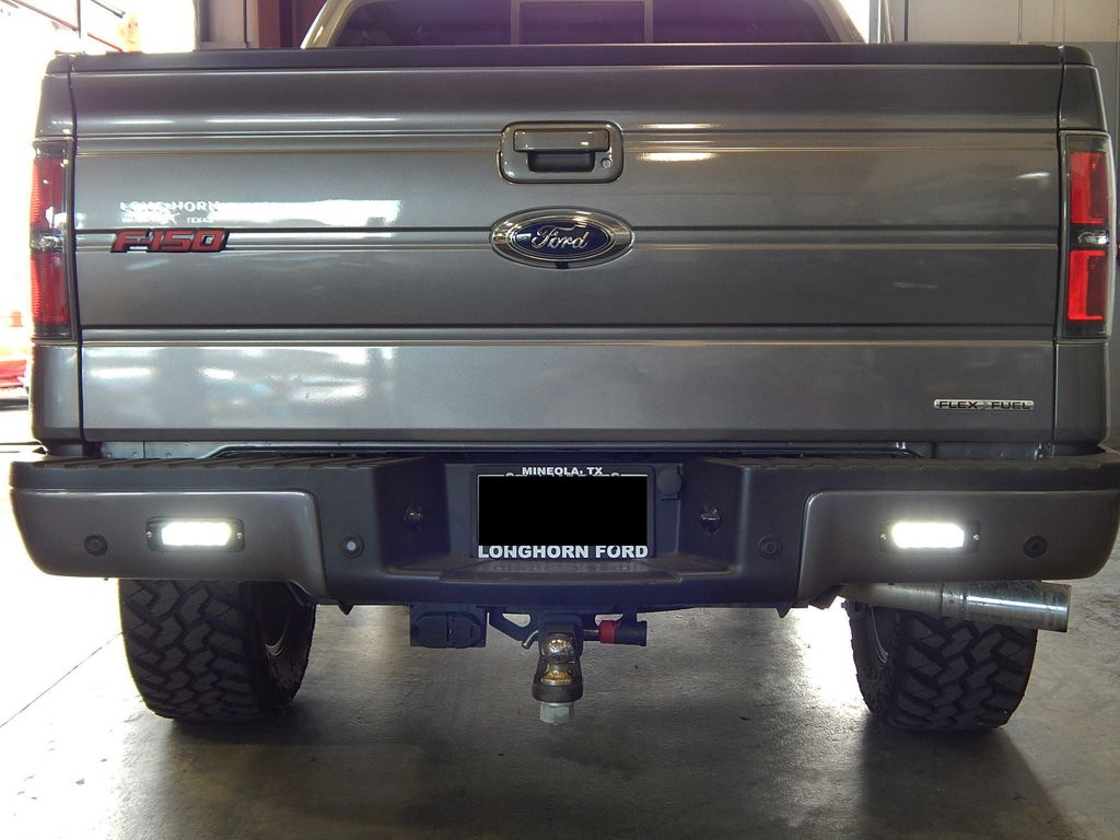 Flush Mounted Led Back Up Lights On A Ford F150 These Powerful Electric Fan With Without Controller Forum Will Brighten Whatever Is Behind You Truckaccessories