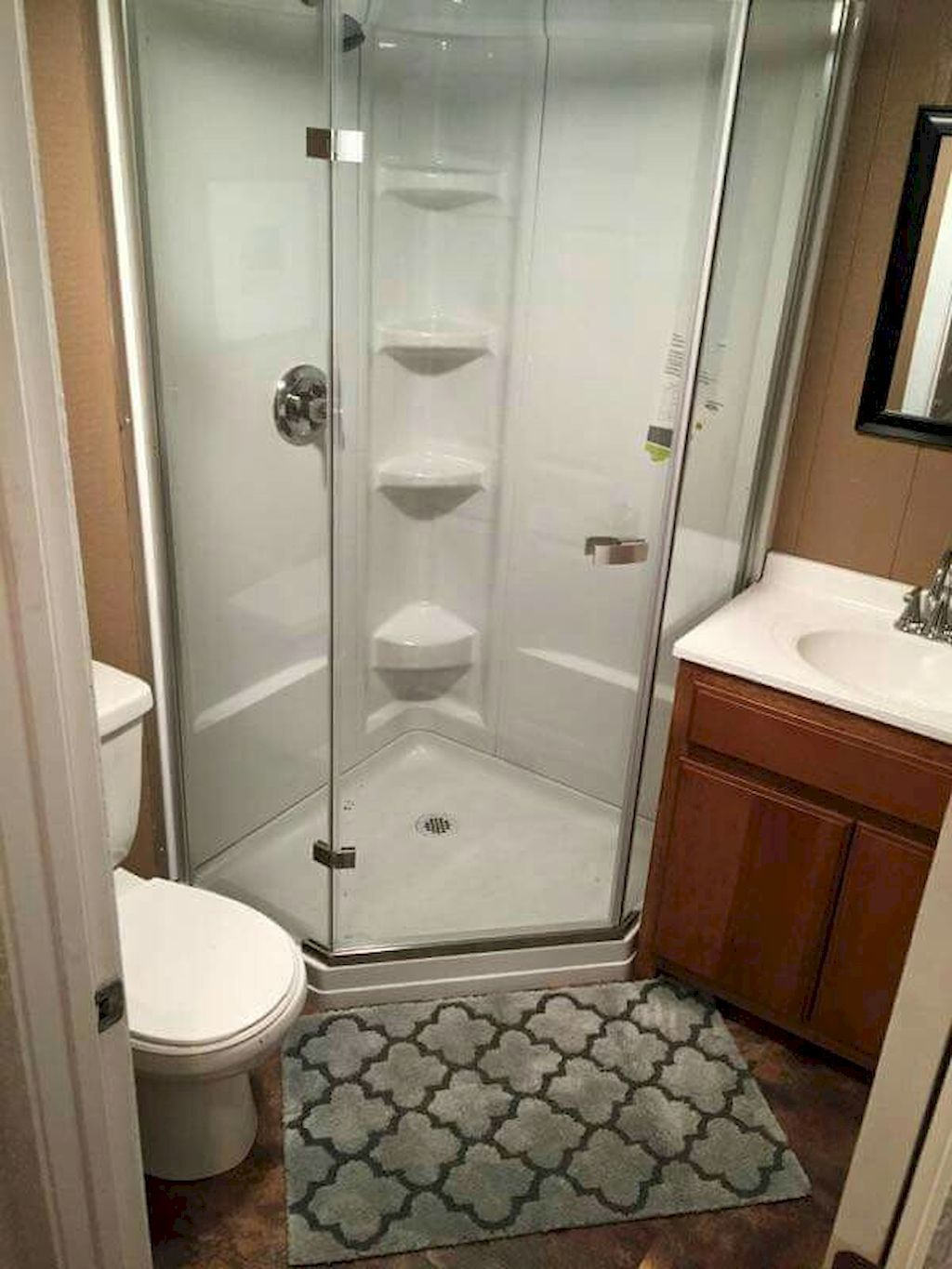Gorgeous 75 Simple Tiny Space Bathroom Ideas On A Budget Https Homeastern Com 2017 07 12 Small Bathroom Tiny House Bathroom