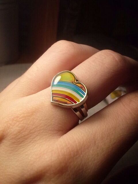 !!FREE WHILE SUPPLIES LAST!!  Beautiful Unique Heart shape cute mood ring sure to enhance your charm.