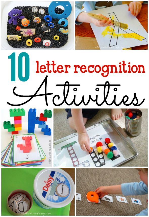 10 Letter recognition activities Teaching letter