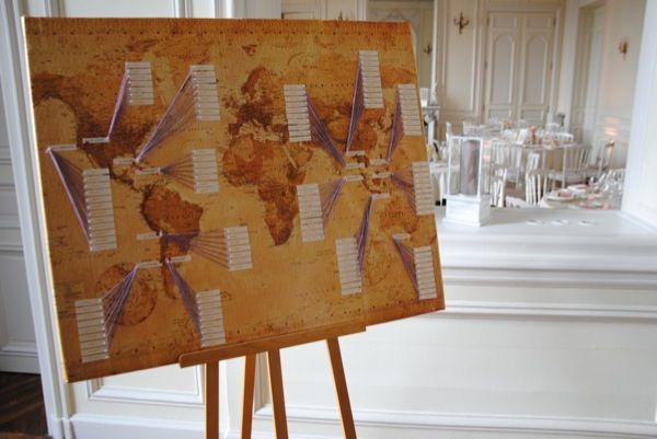 Portfolio De Nos Realisations Table Mariage Voyage Decoration Mariage Plan De Table Mariage