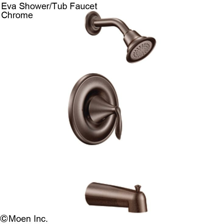 Eva Shower Head & Tub Faucet - Oil Rubbed Bronze | Moen Plumbing ...