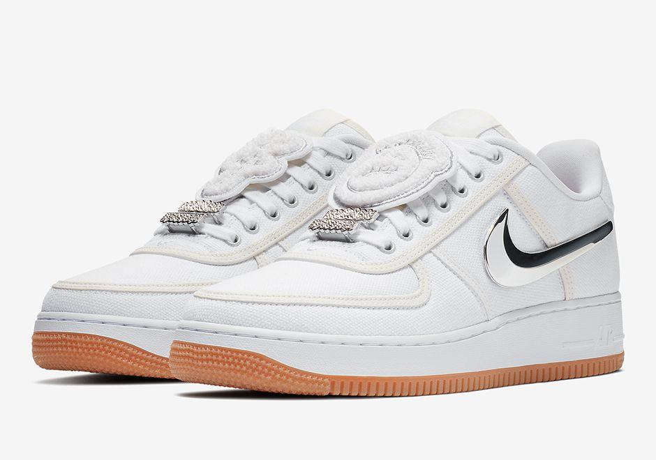 Travis Scott X Nike Air Force 1 Low Release Date Official Photos